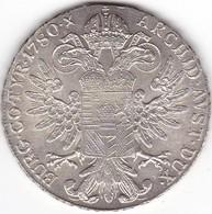 AUSTRIA   MEDAGLIA R-IMP-HU-BO-REG MARIA THERESIA D-G 1780 28,1gr 4cm ARGENTO - Austria