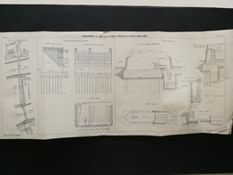 ANNALES DES PONTS Et CHAUSSEES (Dep 75) - Plan D'élargissement De Ponts Sur La Seine - Imp A.Gentil 1912 (CLE62) - Travaux Publics