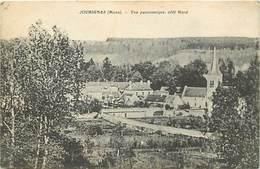 -dpts Div. -ref-AH558 - Aisne - Jouaignes Par Braisne - Vue Panoramique Côté Nord - - Autres Communes