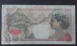 Billet De Collection Antilles Française 1 Nouveau F/ 100 Frs 1947 GUYANE-GUADELOUPE-MARTINIQUE Départements  D'outre-mer - French Guiana