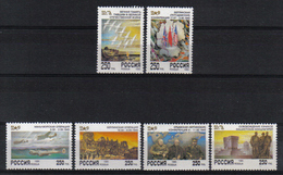 Russia 1995 50th Anniv. End Of WWII  Y.T. 6111/6116 ** - 1992-.... Fédération