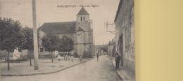 Porcheville : Place De L'Eglise - Porcheville