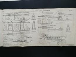 ANNALES DES PONTS Et CHAUSSEES (Dep 13) - Plan Du Canal De Panama - Imp A.Gentil 1912 (CLE64) - Zeekaarten