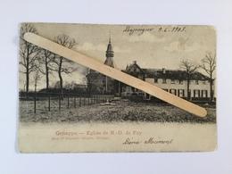 GENAPPE»Eglise De N.-de.Foy .»Panorama,animée Enfants(1903)Édit Vve Delpierre-Decorte,Genappe. - Genappe