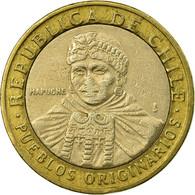 Monnaie, Chile, 100 Pesos, 2008, Santiago, TB+, Bi-Metallic, KM:236 - Chile