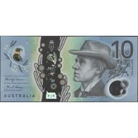 TWN - AUSTRALIA 63 - 10 Dollars 2017 Polymer - Prefix CA - Signatures: Lowe & Fraser UNC - Emisiones Gubernamentales Decimales 1966-...