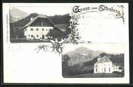 AK Ettenberg, Kapelle, Gasthaus Peter Sunkler - Ohne Zuordnung
