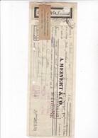 CHEMNITZ 1931 / Ets A MEINERT Et Cie CHEMNITZ - Non Classés