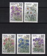 Russia 1995 Flowers  Y.T. 6122/6126 ** - 1992-.... Fédération