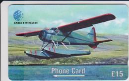 #08 - FALKLAND ISLANDS-01 - AIRPLANE - Falklandeilanden