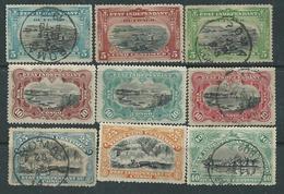 Congo Etat Indépendant N° 14 / 29 O Série Courante Les 17 Vals Oblitérées ( Les 15 Et 18 X) Sinon TB - Belgisch-Kongo