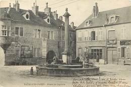 - Doubs -ref-A881- Baumes Les Dames - Place Du Capitole - Affiche Inauguration Du Monument Pasteur - - Baume Les Dames