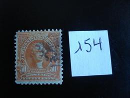 USA - Années 1902-03 - T. Jefferson 50c Orange - Y.T. 154 - Oblit. - Used - Gestempeld - Etats-Unis