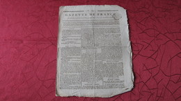 IRLANDE - LA REBELLION IRLANDAISE DE 1798 - ARRESTATION DE THEOBALD WOLFE-TONE - 1798 / AN VII. - Journaux - Quotidiens
