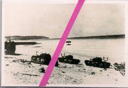 DIEPPE * 76 * RAID CANADIEN DU 17 AOUT 1942 * DOCUMENT RARE -   PHOTO PRISE PAR LES ALLEMANDS APRES LES COMBATS * - Calgary
