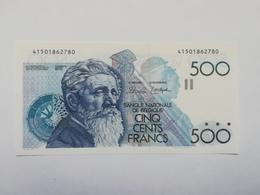 BELGIO 500 FRANCHI - 500 Frank