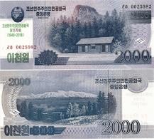 NORTH KOREA     2000 Won      Comm.       P-CS22       J. 97 / 2008 (2018)        UNC - Korea, North