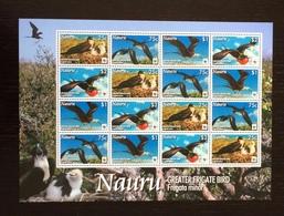 Nauru 2008; WWF Animals & Fauna; Tropical Birds; MNH, Neuf**, Postfrisch; Scarce Sheet; - Nauru