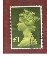 GRAN BRETAGNA (UNITED KINGDOM) -  SG 1026 -  1977 QUEEN ELIZABETH II LGS 1     - USED° - 1952-.... (Elisabetta II)