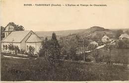 - Doubs -ref-A877- Tarcenay - L Eglise Et Vierge De Charmont - Vierges - Carte Bon Etat - - France