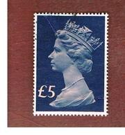 GRAN BRETAGNA (UNITED KINGDOM) -  SG 1028 -  1977 QUEEN ELIZABETH II LGS 5     - USED° - 1952-.... (Elisabetta II)