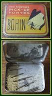 Boîte Métal BOHIN Aiguilles Pick - Up Portes 5,5 X 4,4 Cm - Boîtes