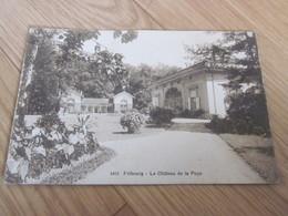 CP  FRIBOURG  LE CHATEAU DE LA POYA - FR Fribourg