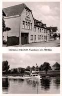 """CPA - GINSHEIM A.ALTRHEIN - Gasthaus """"Schnecko"""" - Mainzer Stasse ... - Allemagne"""
