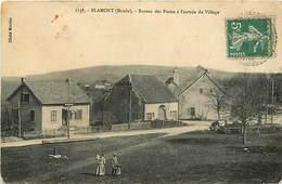 - Doubs -ref-A875- Blamont - Bureau Des Postes A L Entrée Du Village - Poste - P.t.t - Ptt - - France