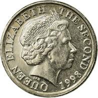 Monnaie, Jersey, Elizabeth II, 5 Pence, 1998, TTB, Copper-nickel, KM:105 - Jersey