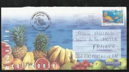 N.C. FDC Lettre Illustrée 1er Jour Circulée Nouméa Le 31/08/2007 Avec Flamme Illustrée  N°1023 Aquarium Des Lagons TB - Neukaledonien