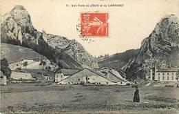 - Doubs -ref-A874- Forts De Joux Et De Larmont - Batiments Et Architecture - Militaria - Usine - Usines - Industrie - - France