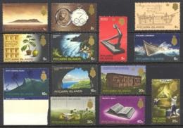 Pitcairn Islands Sc# 97-109 SG# 94/106 MNH 1969 QEII Definitives/Views - Pitcairn Islands