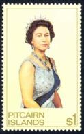 Pitcairn Islands Sc# 146 MNH 1975 $1 Queen Elizabeth II - Pitcairn Islands