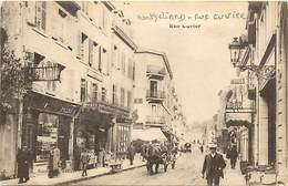 - Doubs -ref-A873- Montbéliard - Rue Cuvier - Magasin Modes  - Librairie Pelot - Epicerie - Magasins - Bar - Voir Etat - - Montbéliard