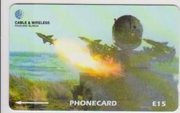 #08 - FALKLAND ISLANDS-12 - ROYAL AIR FORCE - 219CFKA - Falklandeilanden