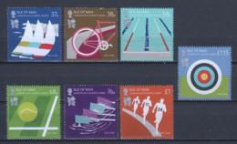 Isle Of Man 2012 Mi 1743-1749 MNG SUMMER OLYMPICS LONDON 2012 - Man (Ile De)