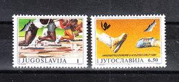Jugoslavia - 1990. Campionati Mondiali Di Atletica. World Athletics Championships. Complete MNH Series - Atletica