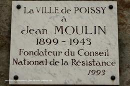 Poissy (78)- Monument à Jean Moulin (Edition à Tirage Limité) - Poissy