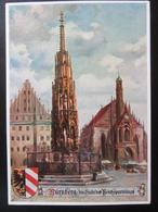 Postkarte Propaganda - Nürnberg Stadt Der Reichsparteitage - Briefe U. Dokumente