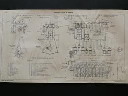 ANNALES DES PONTS Et CHAUSSEES (Dep 13) - Plan Du Viaduc Sur L'étang De Caronte - Imp A.Gentil 1915 (CLE72) - Public Works