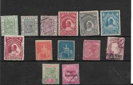 Conjunto De 13 Sellos De Colonias Inglesa En Africa - Mauricio (1968-...)