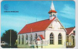 #08 - FALKLAND ISLANDS-18 - ST. MARY'S CHURCH - 289CFKA - Falkland Islands
