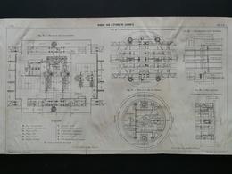 ANNALES DES PONTS Et CHAUSSEES (Dep 13) - Plan Du Viaduc Sur L'étang De Caronte - Imp A.Gentil 1915 (CLE73) - Travaux Publics