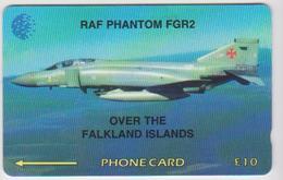 #08 - FALKLAND ISLANDS-19 - RAF PHANTOM - AIRPLANE - 4CWFA - Islas Malvinas