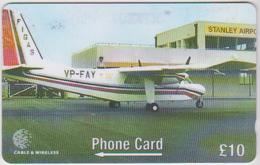#08 - FALKLAND ISLANDS-20 - AIRPLANE - 275CFKB - Falkland Islands