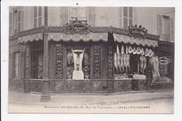 CPA 92 LEVALLOIS PERRET Boucherie Fournier 30 Rue De Courcelles - Levallois Perret
