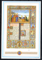 Belgio  -  1993. Messale Mattia Corvino. Gesù Con Apostoli Pietro Andrea Missal Matthias Corvinus. Jesus With Apostles - Cristianesimo