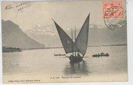 SUISSE - VAUD - Barque Du Léman - VD Vaud