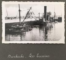 Guerre 1939-45. Dunkerque Ou Ostende. Une Des Deux Légendes Erronée. Bassins. Bateaux. Destructions. Militaria. - War, Military